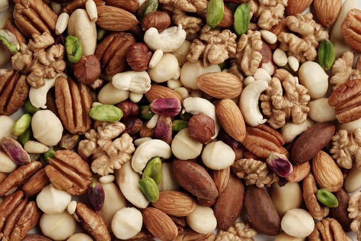 Hazelnuts Pine nuts Pecan nuts Pistachio Nuts Chestnuts