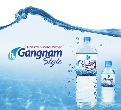 h2 Gangnam Style Mineral Water