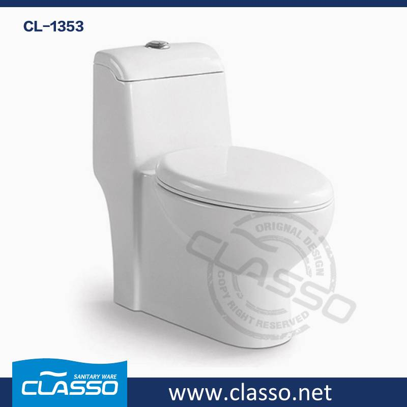 Hot Sale Best price siphonic toilet CLASSO one piece water closet CL-1353