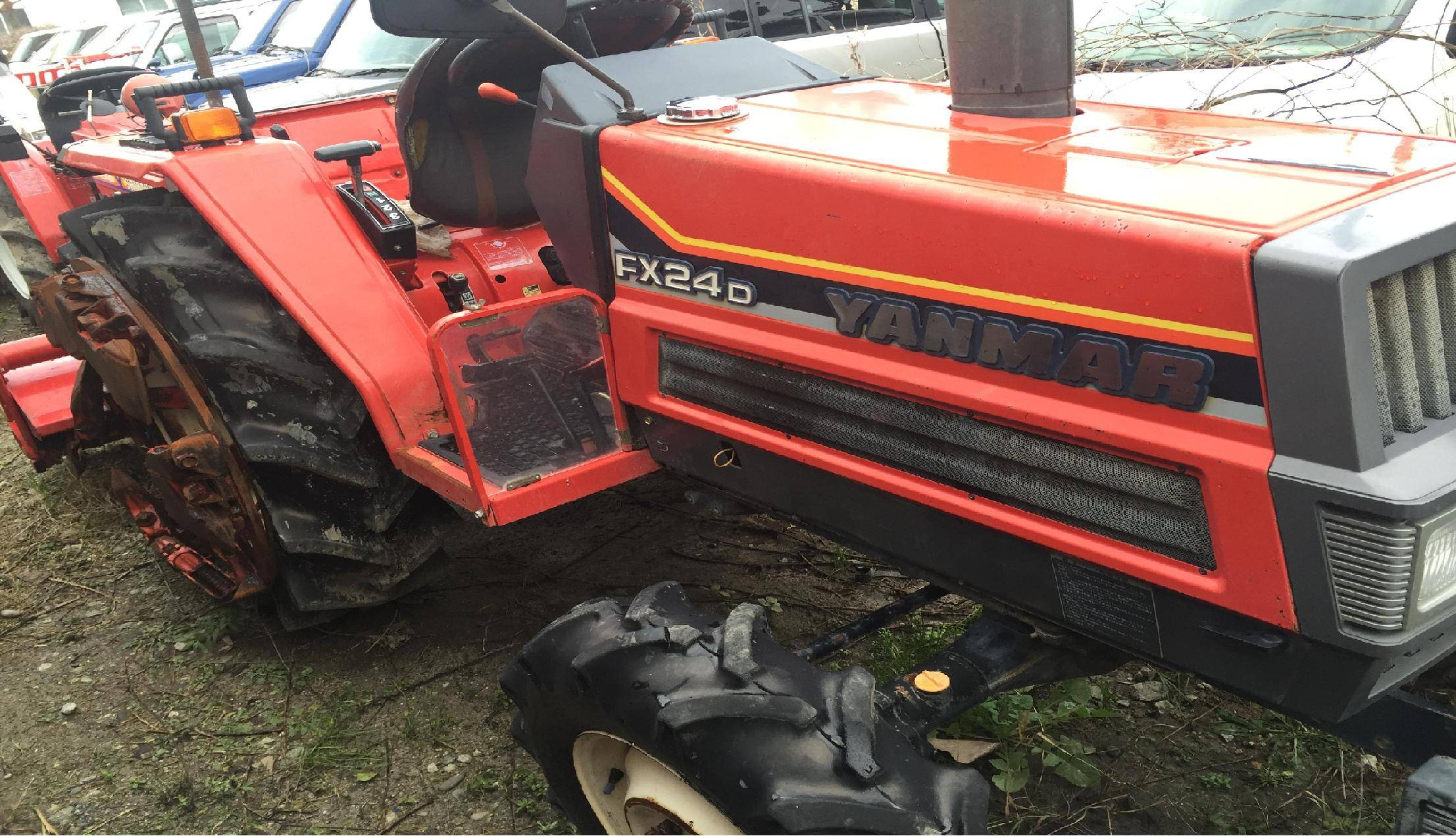 Used Tractor Yanmar FX24D