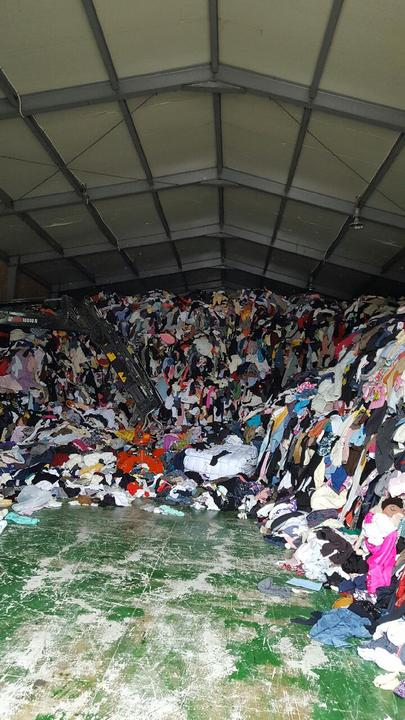 Used clothes and Used shoes