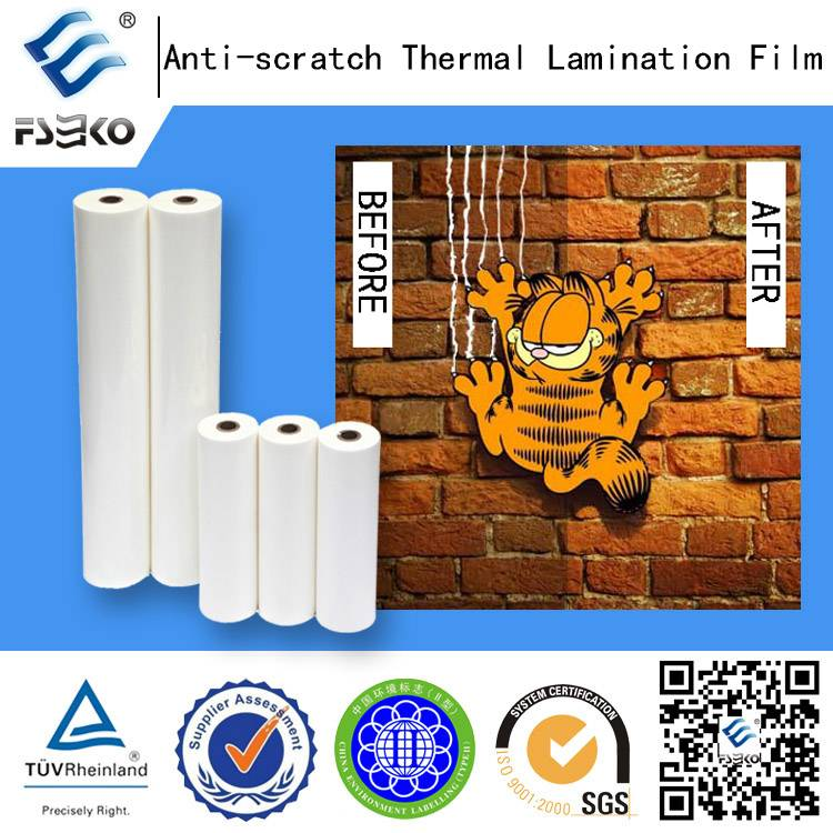 BOPP Anti Scratch Film for Hot Laminating