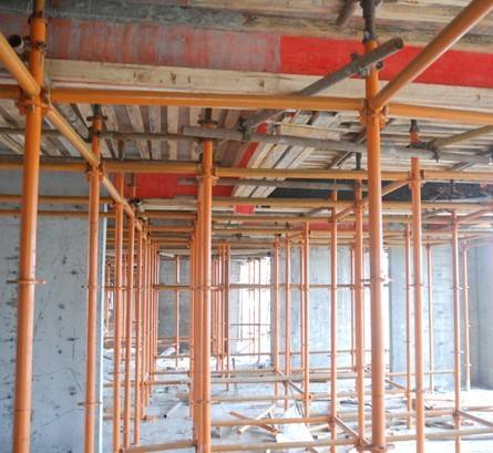 Direct support scaffolding