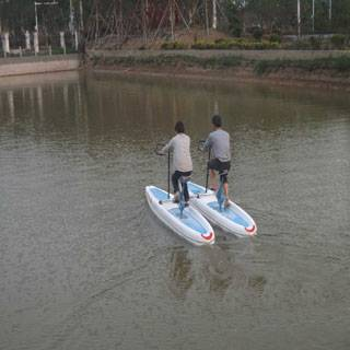 entertainment for the Double water bike