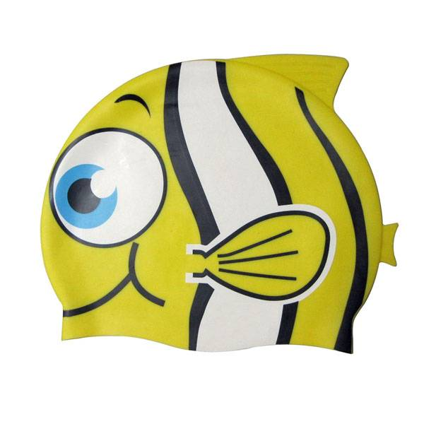 Fish swimming cap