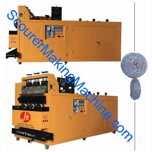 Sell scrubber making machine for lavagem, épurateur, récurant, estropajo