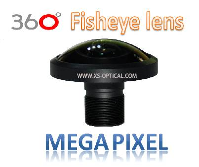 XS-6003-961-12 Megapixel fisheye lens, Max Image Height Ø3.2mm, FOV240° for Panoramic Camera