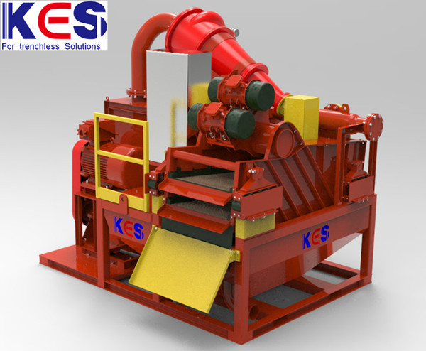KES slurry treatment for oil&gas CBM geothermal drilling waste treatment