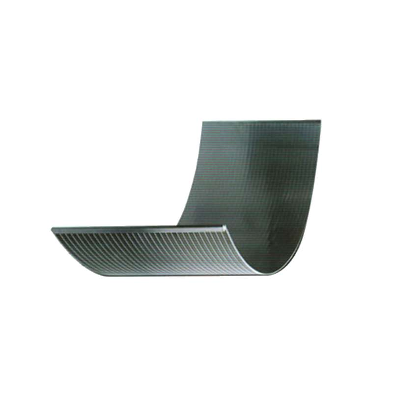 SS Wedge Wire Arc Curved Screen Plate
