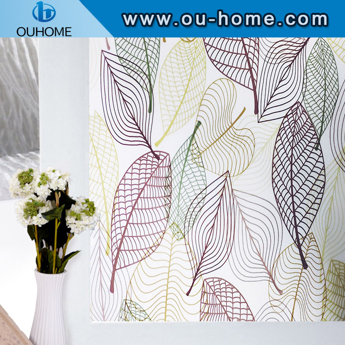 H8281 3D Decorative Stained Glass Window Film