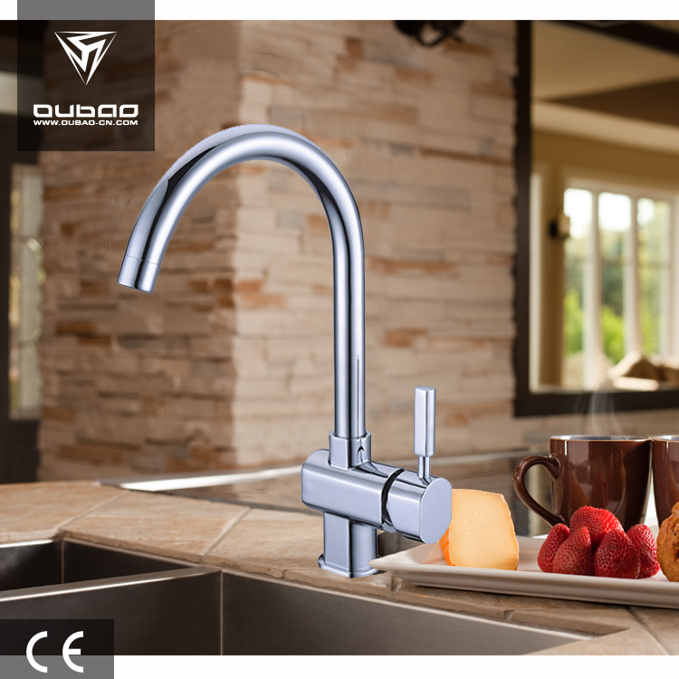 Hot Sale Simple Kitchen Faucets Single Handle New Modern Tap