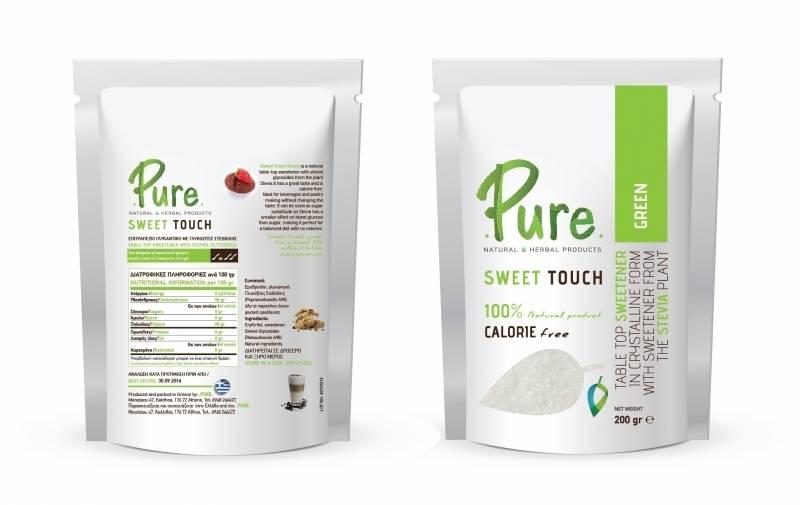 produce of stevia sweetener