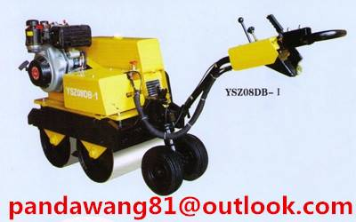 SINOMACH YSZ08DB-1 0.8Ton Hand Compact Road Roller