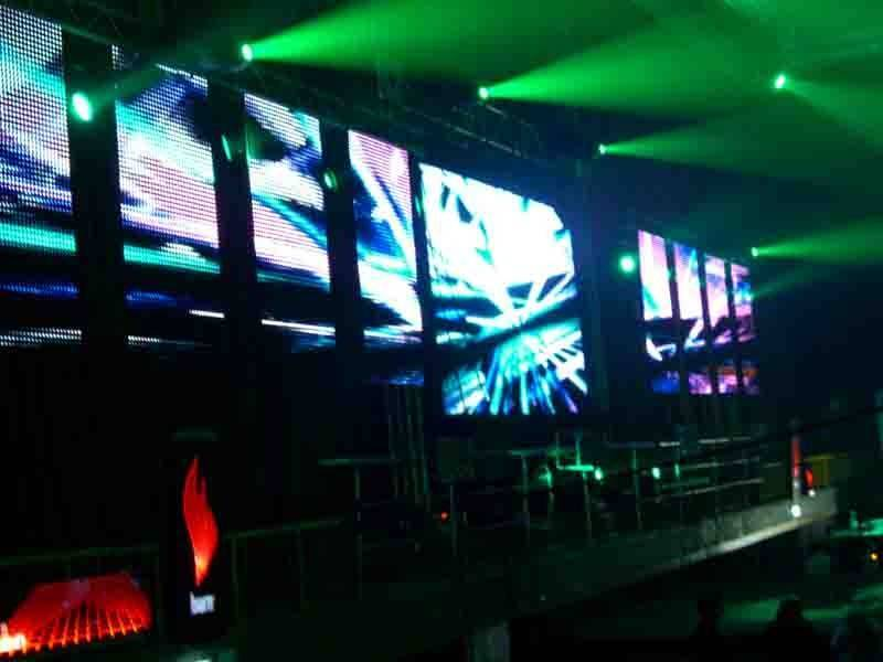 Recreation Bars stages Full color LED Display