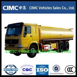 Sell HOWO 6x4 fuel tanker truck