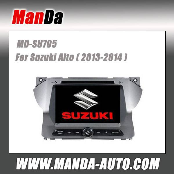 car dvd for Suzuki Alto ( 2013-2014) car dvd gps navigation in-dash head units multimedia system car