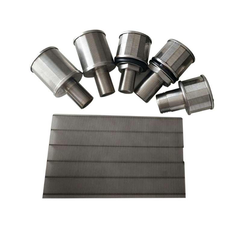Stainless steel resin traps water filter ditibutor