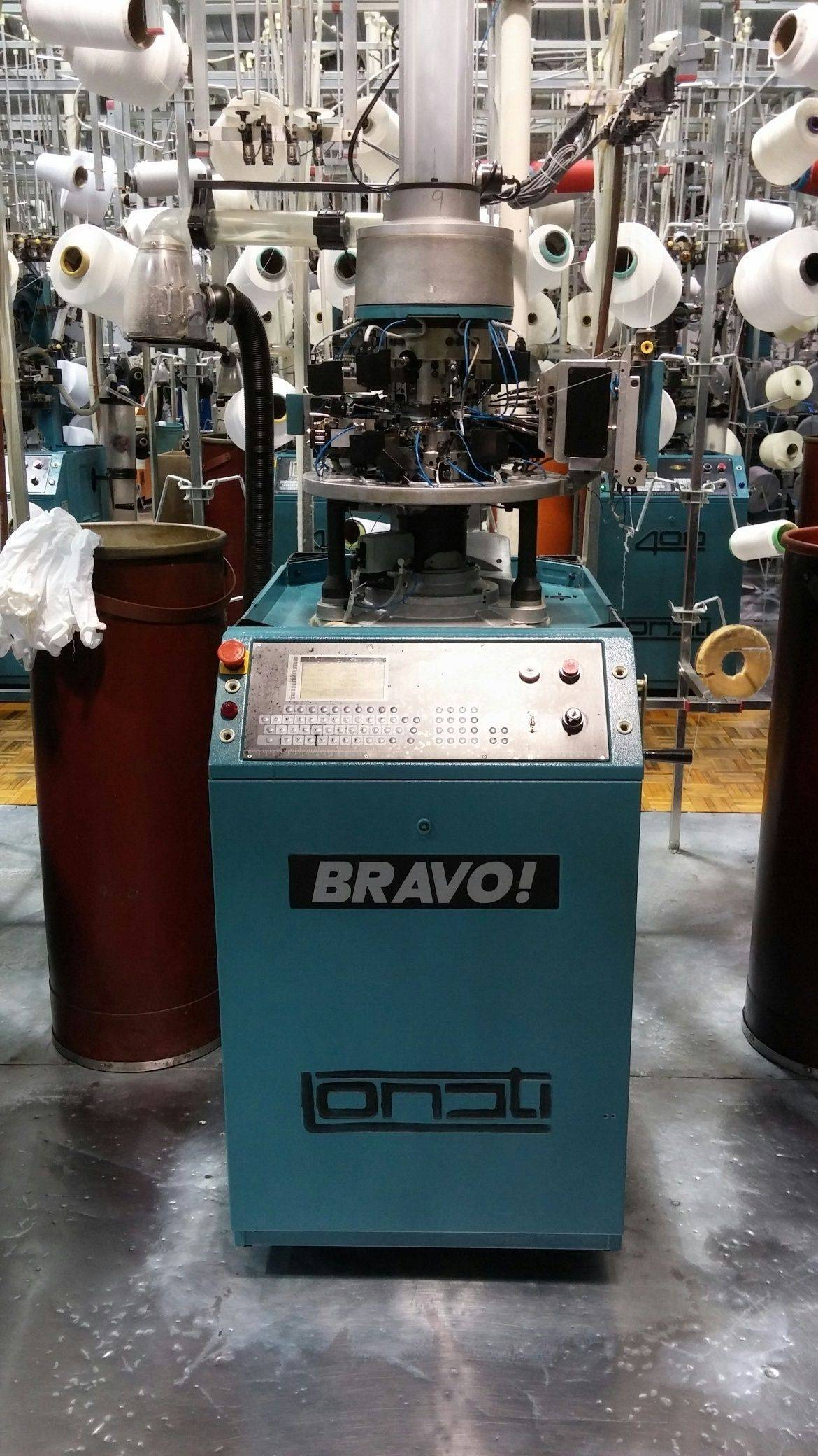 Lonati Bravo Knitting machines