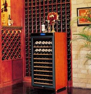 oak cherry solid wooden wine cooler cabinet storage for cigar humidors
