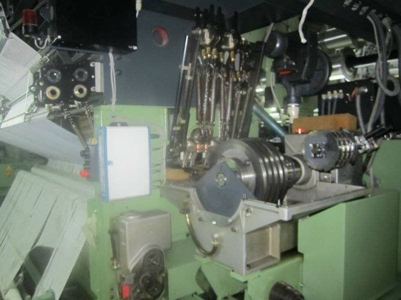 Karl Mayer warp knitting machinery RJSC 4F NE
