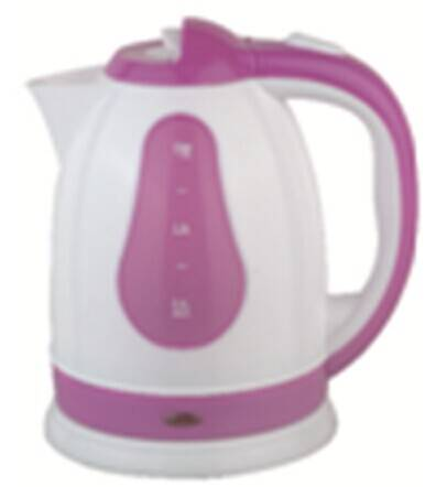 electric kettle in plastic material