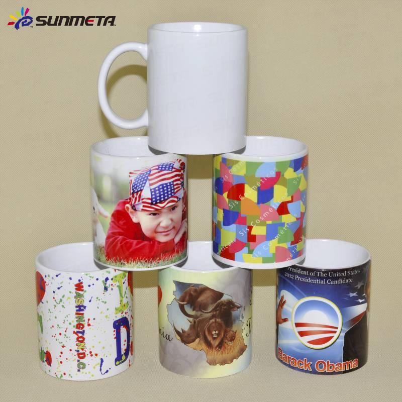 11oz White Coated Ceramic Sublimation Printing Mugs