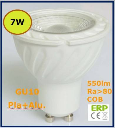 7W MR16/GU10 led spotlight