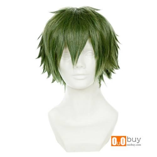 Selling Youth x Machine Gun Midori Nagamasa Green Short Cosplay Wig