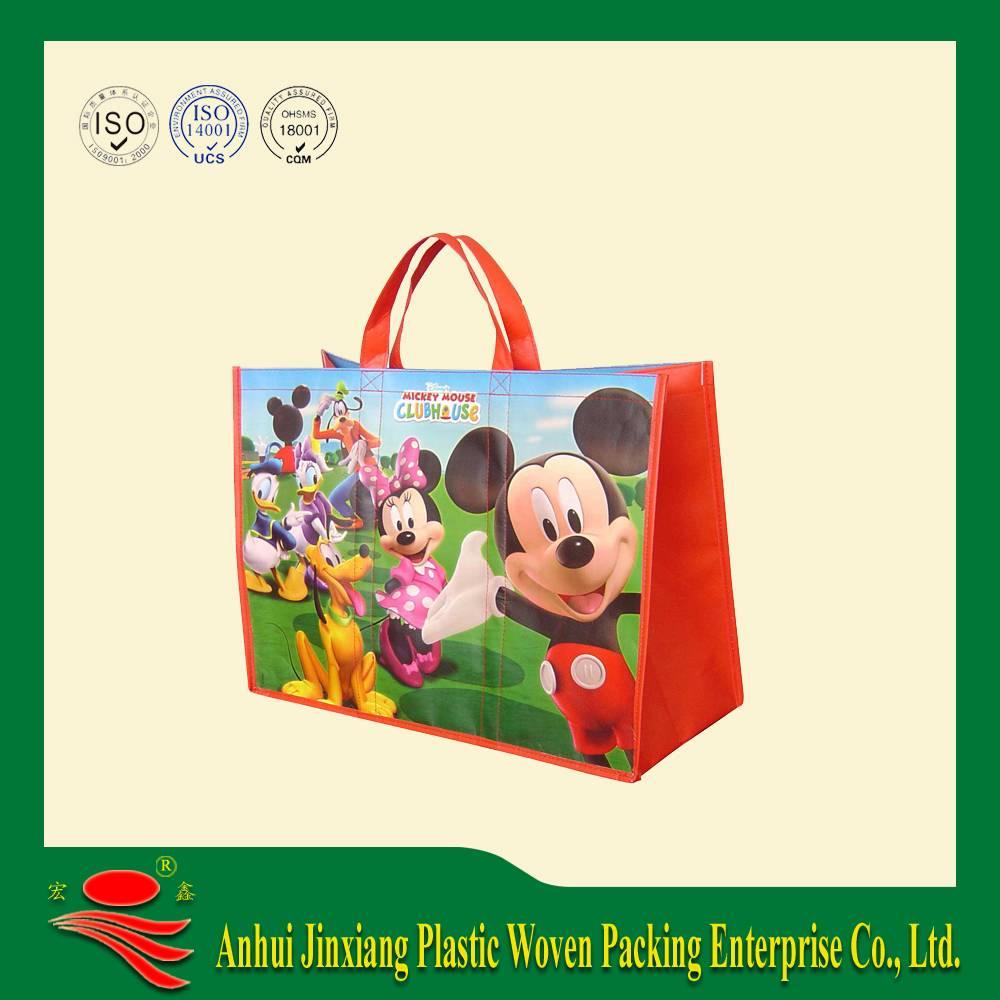 Foldable PP Woven Shopping Bag,promotion bag,