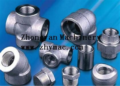 Qinhuangdao manufacturer supply carbon steel forged pipe fittings
