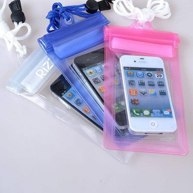 PVC waterproof bag for mobile phone,waterproof phone bag