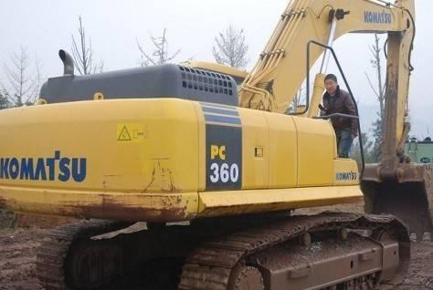 PC360-7 komatsu excavator 36ton digger