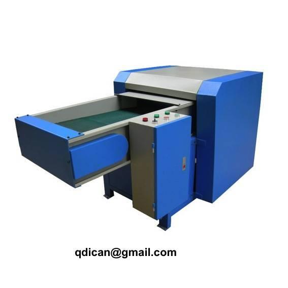 Microfiber opening machine