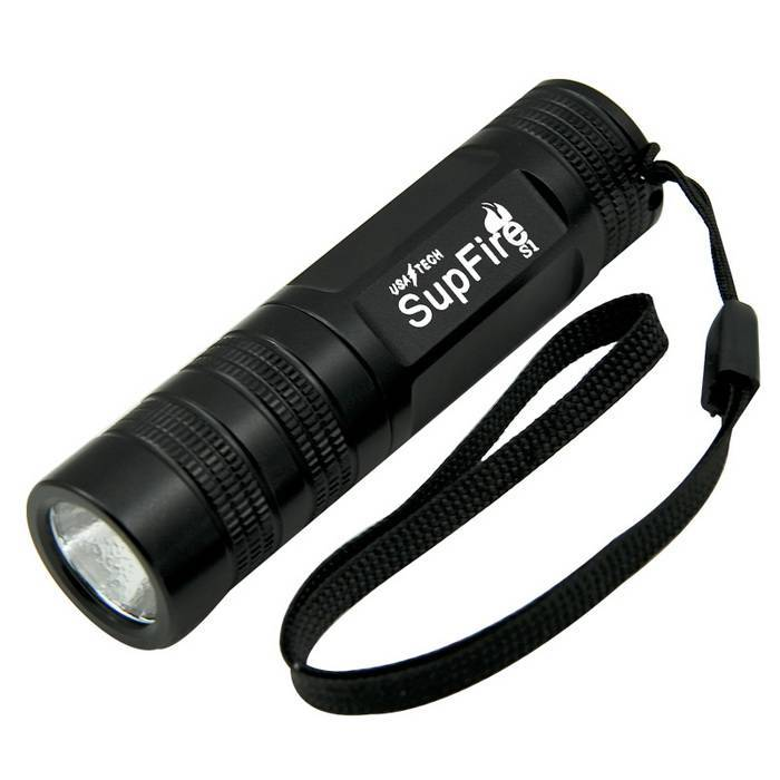 SupFire S1mini rechargeable keychain led flashlight