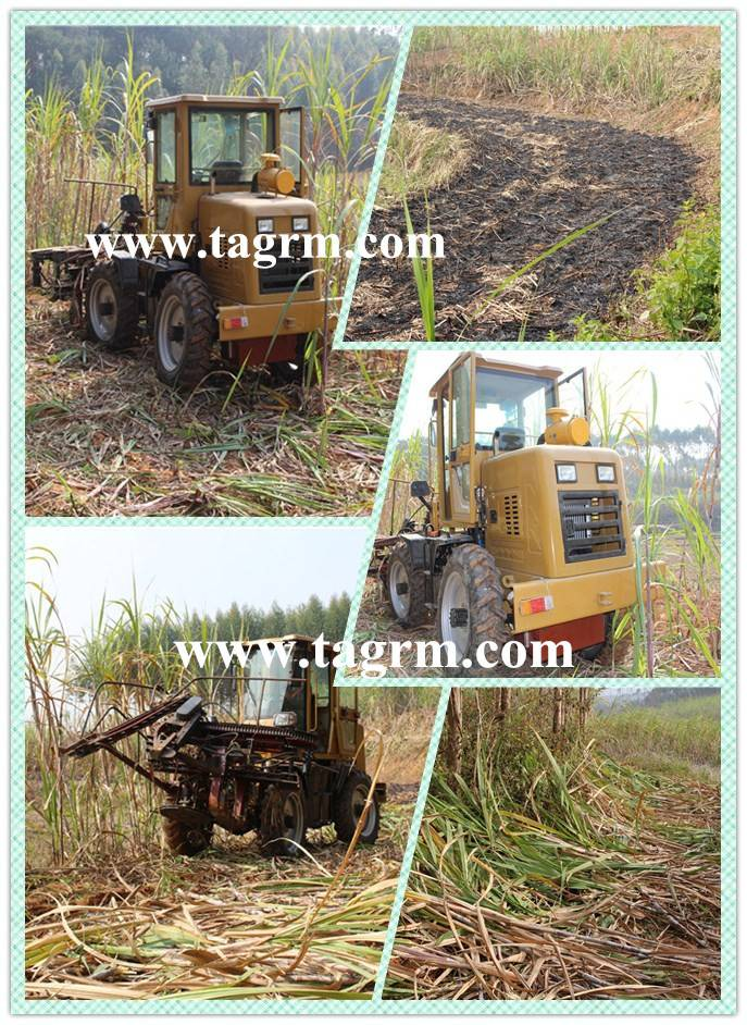 Sugarcane harvester,sugarcane cutter harvester