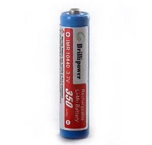 Brillipower IMR10440 Batteries 350mAh li-Mn Rechargeable Batteries