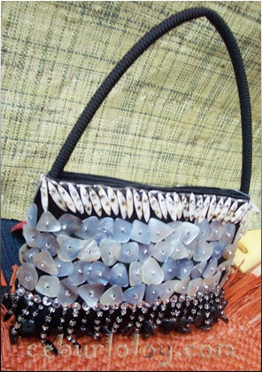Sell Ladies Handbags / Party Bag with Shells  from Cebu Philippines