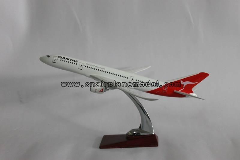 aircraft model B787 Qantas