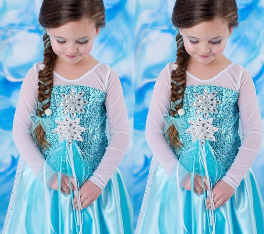 Frozen Dress Elsa & Anna Summer Dress