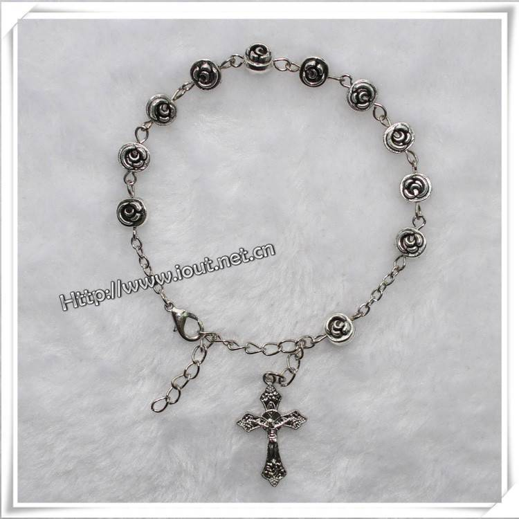 ALLOY METAL Rosary Bracelet