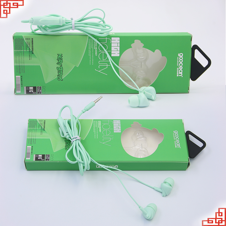 Scented earphone with color