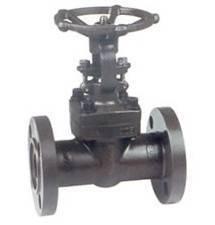 Forged steel flange gate valve