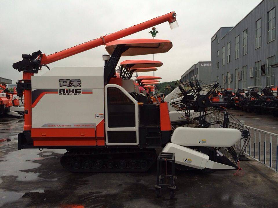 I Style Full -Feeding Combine harvester machinery