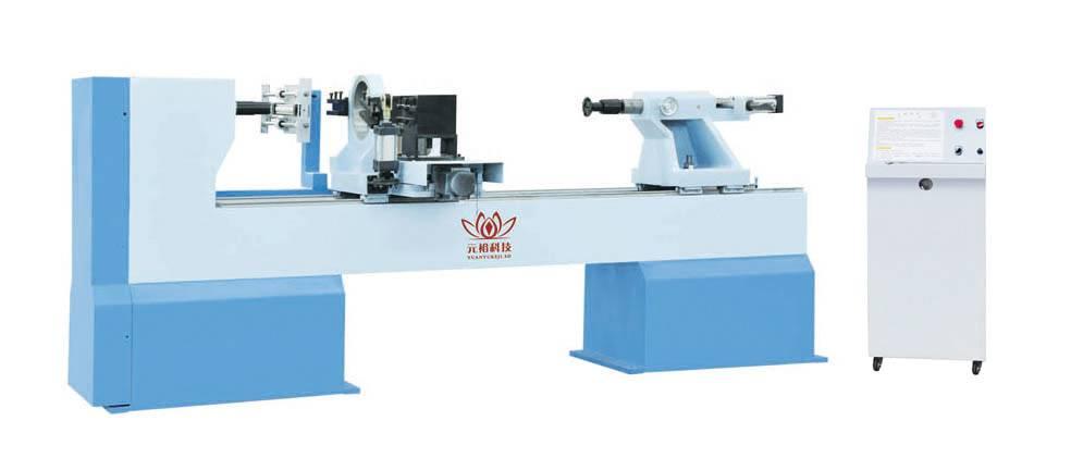 CNC woodworking lathe
