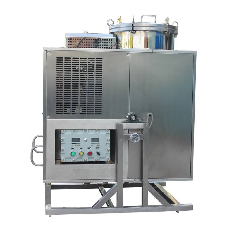 T - 125 solvent recovery equipment