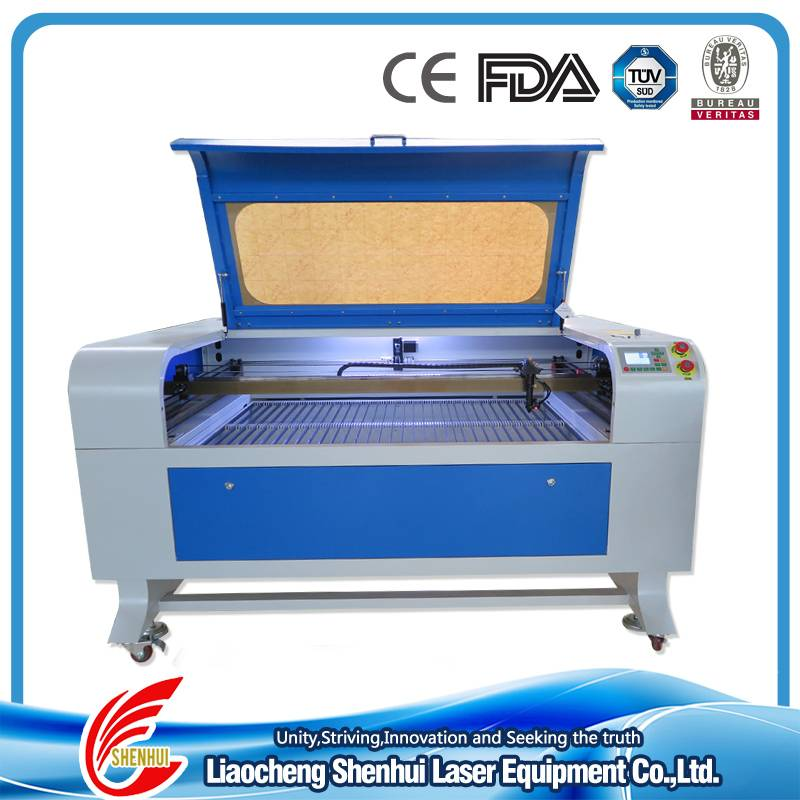Mod.1290 small hot sales cheap CO2 laser engraving and cutting machine