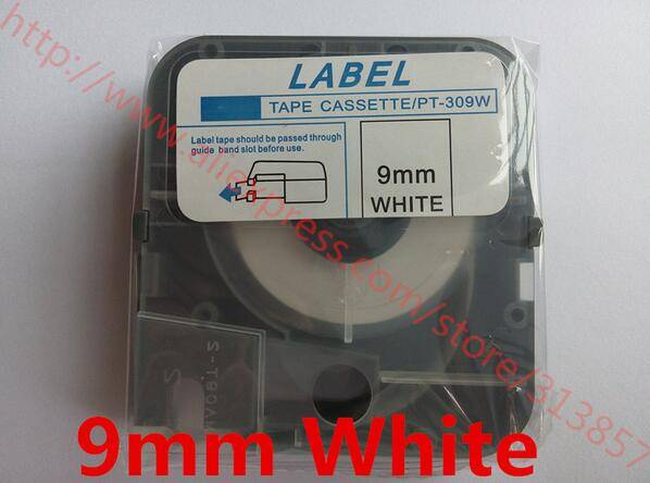 cable marker ID printer White label tape LM-PT309W For wire marking machine LM-380E / A LM-400A LM-3