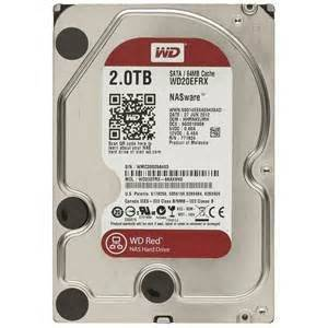 Western Digital WD20EFRX WD Red 2TB NAS Internal HDD 3.5 Desktop Hard Drive Disk