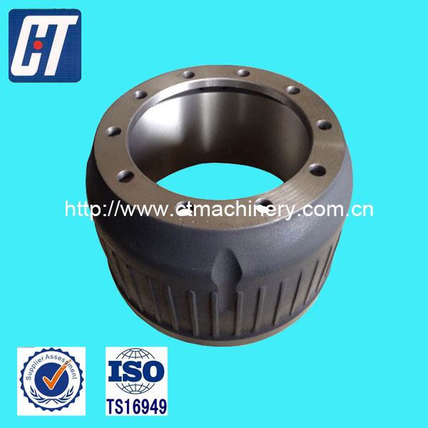 OEM Brake Drum Braking System Drum Brake with High Performance