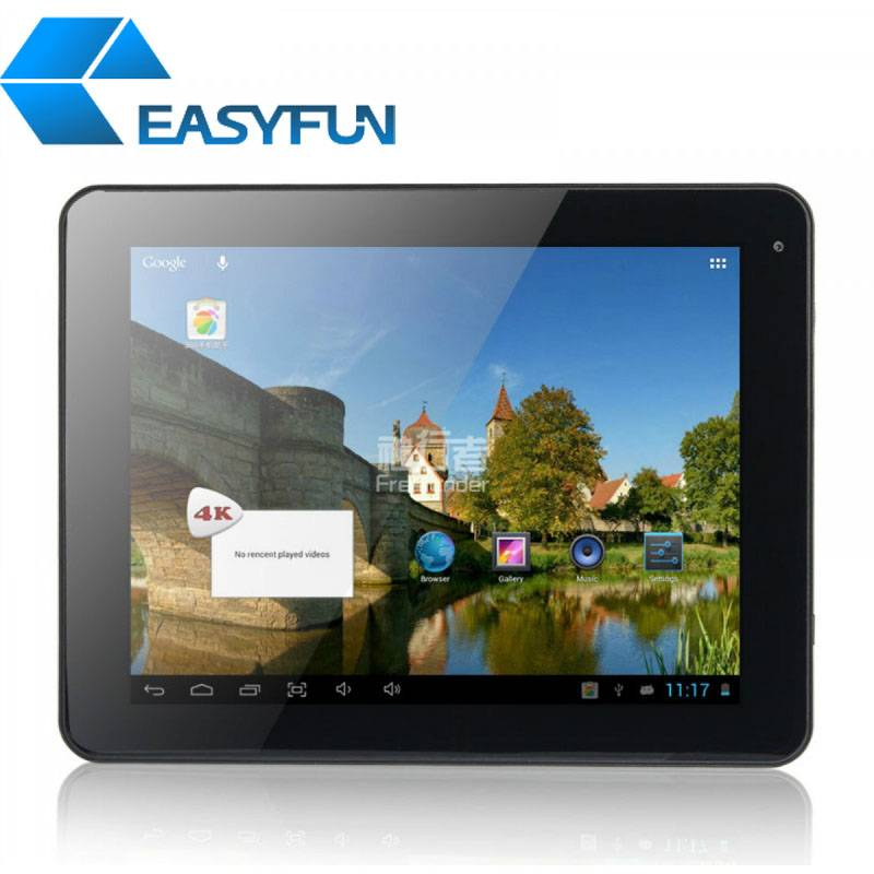 Cheap 9.7 inch Tablet PC/MID Allwinner A20 Android 4.2 1G/8G 5-point touch Dual camera